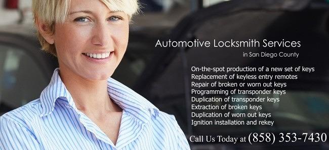Automotive Locksmith in San Diego