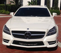 Luxury Mercedes car